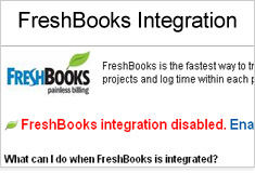 Integrate with FreshBooks