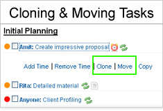 Moving Tasks